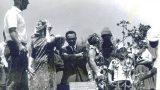 יאו סמיט וחברים, חסידי אומות העולם, נוטעים עצים ביד-ושם. קיץ 1964