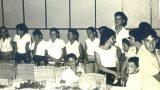"""דור ההמשך לחברי """"קבוצת ווסטרוויל"""" במפגש החברים - קיץ 1964"""